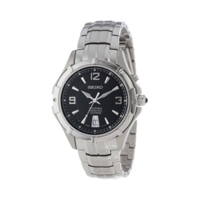 腕時計 セイコー メンズ SNQ123 Seiko Men's SNQ123 Classic Perpetual Calendar Watch