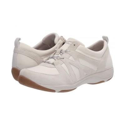 Dansko ダンスコ レディース 女性用 シューズ 靴 スニーカー 運動靴 Hatty - Ivory Suede