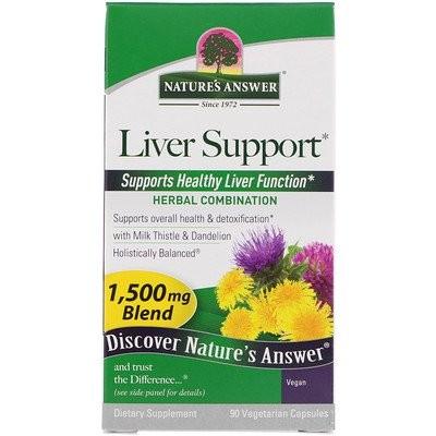 肝臓のサポート、1,500mcg、植物性カプセル90粒