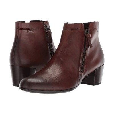 エコー Shape M 35 Ankle Bootie レディース ブーツ Brown Full Grain Leather
