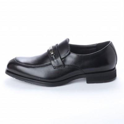マドラス  madras アビーロード ABBEY ROAD AB6505 防水 幅広設計 本革 ビジネスシューズ メンズシューズ ビット スリッポン  革靴 紳士靴 ブラック