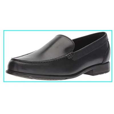 Rockport Men's Classic Lite Venetian Slip-On Loafer- Black-10 W