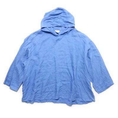 Soft Surroundings リネン プルオーバー 長袖シャツ サイズ表記:3X