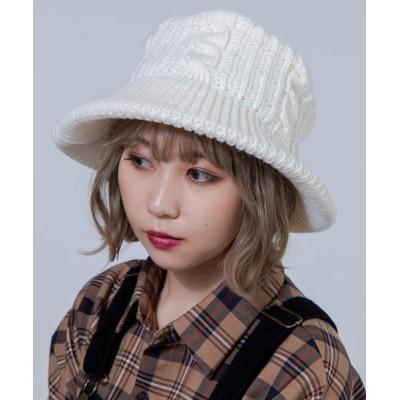 WEGO / WEGO/ニットバケットハット WOMEN 帽子 > ハット