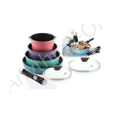 新品 [ Neoflam ] Midas 9ピース調理器具セット( 21227010?) Cook Wareキッチンアイテム並行輸入品