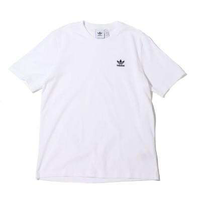 アディダス adidas 半袖Tシャツ エッセンシャル Tシャツ (WHITE) 21FW-I