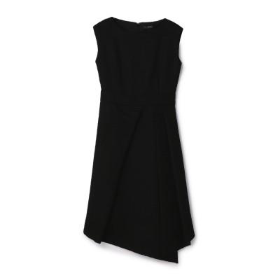 BAUME / アシンメトリックツイードドレス
