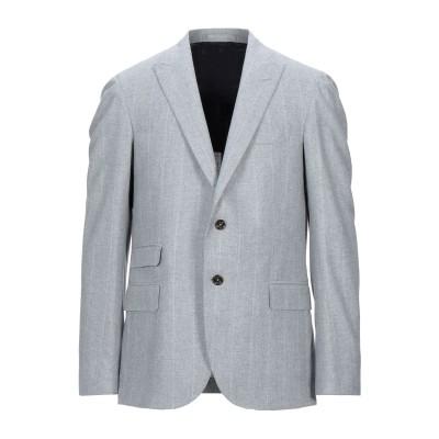 イレブンティ ELEVENTY テーラードジャケット ライトグレー 52 ウール 89% / シルク 6% / カシミヤ 5% テーラードジャケット