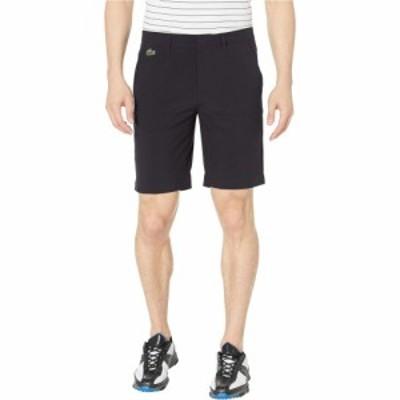 ラコステ Lacoste メンズ ショートパンツ バミューダ ボトムス・パンツ Taffetas Solid Bermuda Shorts Black