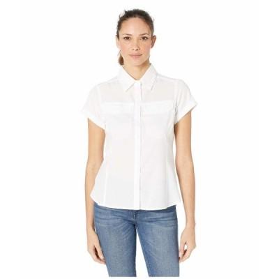 コロンビア シャツ トップス レディース Silver Ridge Lite Short Sleeve Shirt White