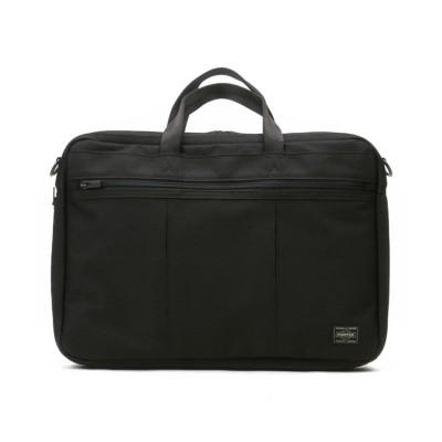【カバンのセレクション】 吉田カバン ポーター テンション ビジネスバッグ メンズ 薄い 薄型 拡張 2WAY A4 PORTER 627-07503 ユニセックス ブラック フリー Bag&Luggage SELECTION