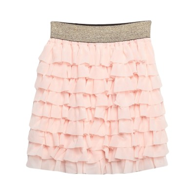 VICOLO ミニスカート ライトピンク S ポリエステル 100% ミニスカート
