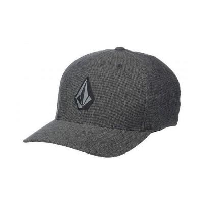 Volcom ヴォルコム メンズ 男性用 ファッション雑貨 小物 帽子 野球帽 キャップ Stone Tech Xfit - Dark Charcoal
