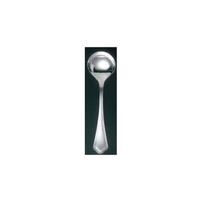 【まとめ買い10個セット品】 EBM 洋白 シェルブール(銀メッキ付)デザートスープスプーン【 カトラリー・箸 】