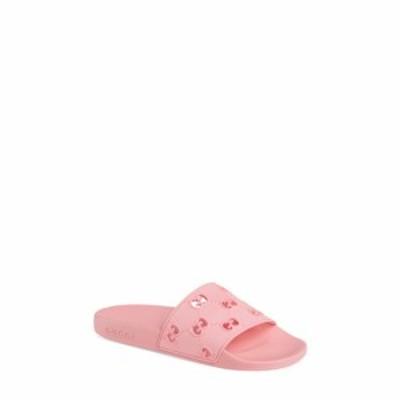 グッチ GUCCI レディース サンダル・ミュール シューズ・靴 Pursuit GG Logo Slide Sandal Rose Box