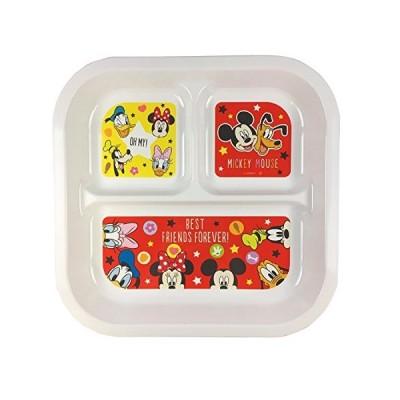 ヤクセル ランチプレート ディズニー 日本製 スクエア ミッキー&ミニー S5 13306