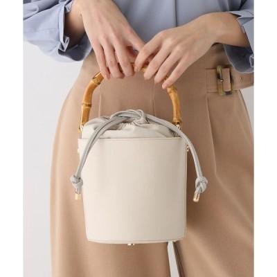 AG by aquagirl / エージー バイ アクアガール 【2WAY】バンブーハンドルバケットバッグ