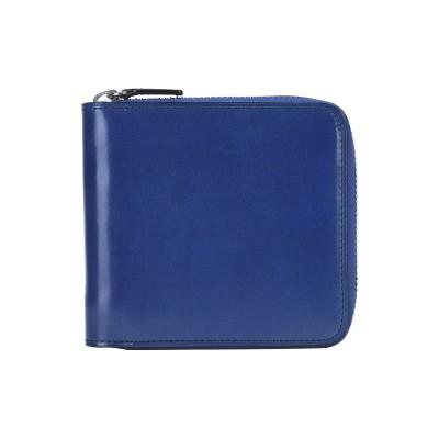IL BUSSETTO 財布 ブルー 牛革 100% 財布