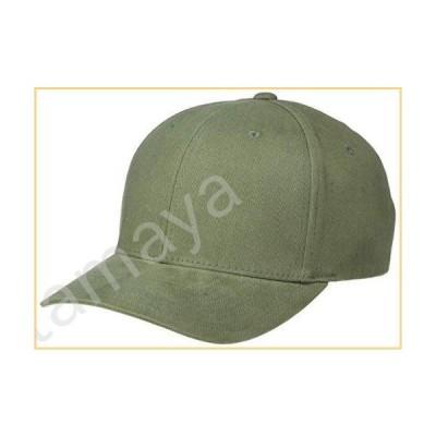 Flexfit メンズ アスレチックベースボール 起毛ツイルキャップ US サイズ: Large-X-Large カラー: グリーン