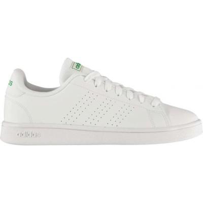 アディダス adidas メンズ スニーカー シューズ・靴 Advantage Base Trainers White/Green