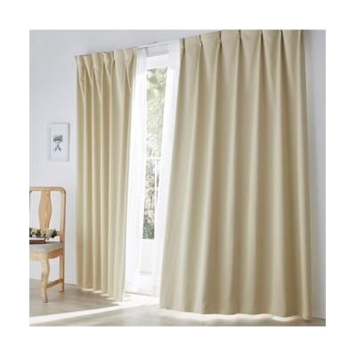 【1cm単位オーダー】防炎・遮光カーテン(1枚) ドレープカーテン(遮光あり・なし) Curtains, blackout curtains, thermal curtains, Drape(ニッセン、nissen)