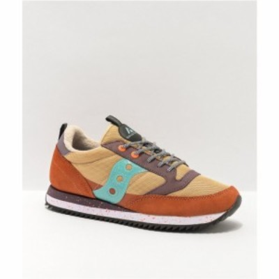 サッカニー SAUCONY レディース スニーカー シューズ・靴 Saucony Jazz Original Peak Curry. Ginger. and Blue Shoes Light/pastel pink