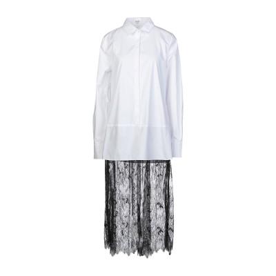 BRIGITTE BARDOT シャツ ホワイト 2 コットン 80% / ポリエステル 20% シャツ
