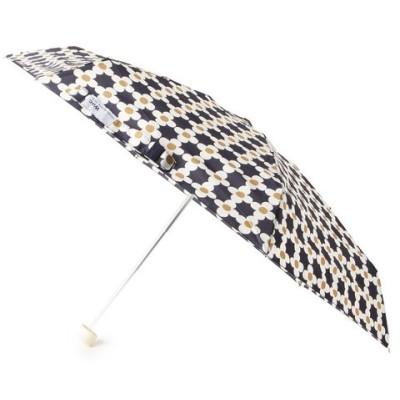 passage mignon(パサージュ ミニョン)フラワープリント晴雨兼用折りたたみ傘