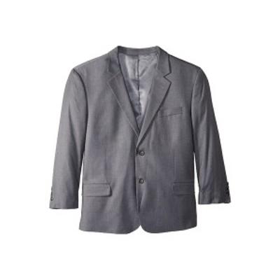 ドッカーズ メンズ コート アウター Big & Tall Regular Fit Suit Separate Blazer Mid Grey