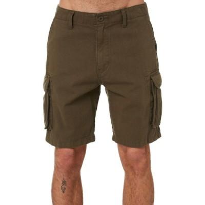 ラスティ Rusty メンズ ショートパンツ ボトムス・パンツ manila cargo walkshort Rifle green