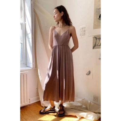 アーバンアウトフィッターズ Urban Outfitters レディース オールインワン キュロット ジャンプスーツ ワンピース・ドレス UO Molly Culotte Jumpsuit Mauve