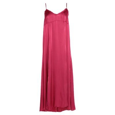 テッサ .TESSA ロングワンピース&ドレス ガーネット 44 レーヨン 100% ロングワンピース&ドレス