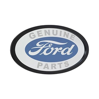 Ford Genuine Parts Logo Oval Framed Wood Mirror