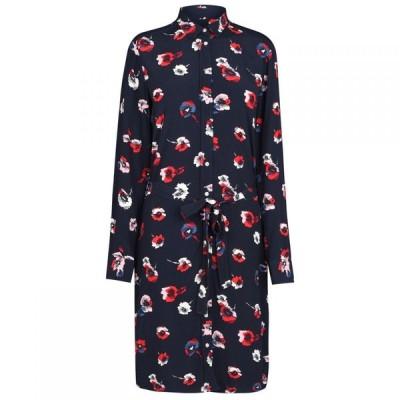 ガント Gant レディース ワンピース ワンピース・ドレス Poppy Dress Evening Blue