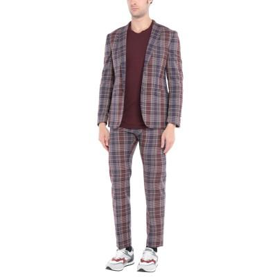トネッロ TONELLO スーツ ボルドー 48 バージンウール 97% / ナイロン 2% / ポリウレタン 1% スーツ
