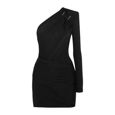 ミュグレー MUGLER ミニワンピース&ドレス ブラック 36 レーヨン 96% / ポリウレタン 4% / ナイロン ミニワンピース&ドレス