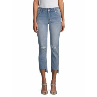 ハドソンジーンズ レディース パンツ デニム Distressed Step-Hem Jeans