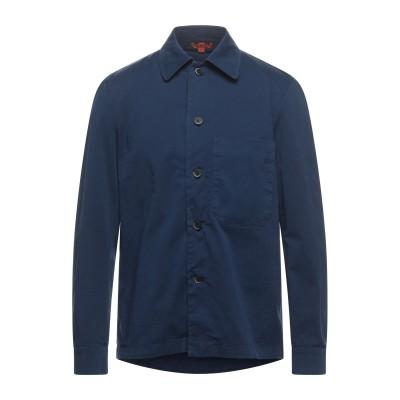 バレナ BARENA シャツ ブルー 52 コットン 98% / ポリウレタン 2% シャツ