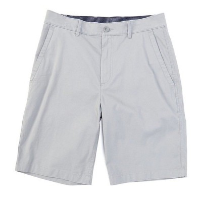 ロウン メンズ ハーフ&ショーツ ボトムス 10#double; Inseam Flat-Front Stretch Chino Shorts Medium Grey