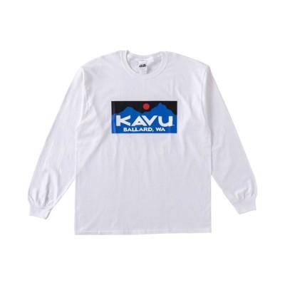 tシャツ Tシャツ KAVU カブー バラードロゴ L/S