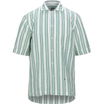 ペペジーンズ PEPE JEANS メンズ シャツ トップス linen shirt Light green