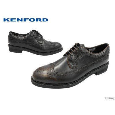 リーガルコーポレーション KENFORD ケンフォード KN35 AAJ 本革メンズシューズ ビジネスシューズ ウイングチップ