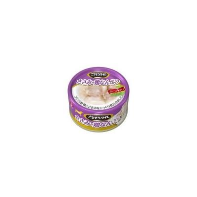 PETLINE/ペットライン  ごちそうタイム(缶) ささみ&鶏なんこつ 80g