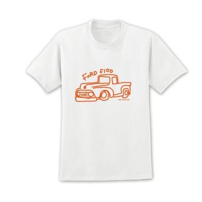 Miulatin Tシャツ FORD F-100 フォード アメ車 トラック 251 両面