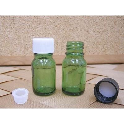 遮光瓶 Tグリーン 10ml キャップ付