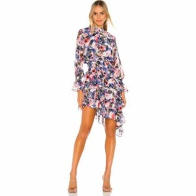 ミサロサンゼルス MISA Los Angeles レディース ワンピース ワンピース・ドレス MISA X REVOLVE Los Angeles Savanna Dress Tie Dye Flor