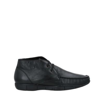 ア・テストーニ A.TESTONI ショートブーツ ブラック 5 牛革(カーフ) ショートブーツ