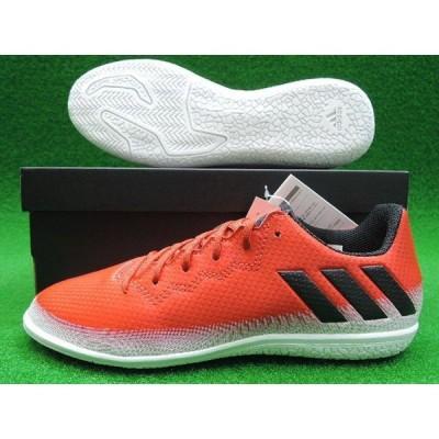 あすつく アディダス adidas メッシ16.3IN J フットサルシューズ インドアシューズ トレーニングシューズ レッド×コアブラック×ランニングホワイト BB5650