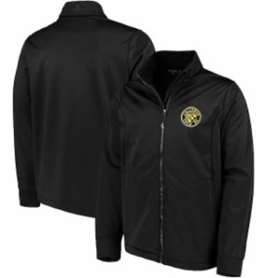 Antigua アンティグア スポーツ用品  Antigua Columbus Crew SC Black Golf Full-Zip Jacket