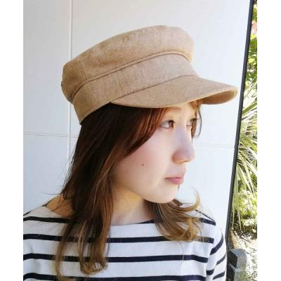 atmos / RIVER UP MIX HERRINGBONE CAS / リバーアップ ミックス ヘリンボーン キャス WOMEN 帽子 > キャップ